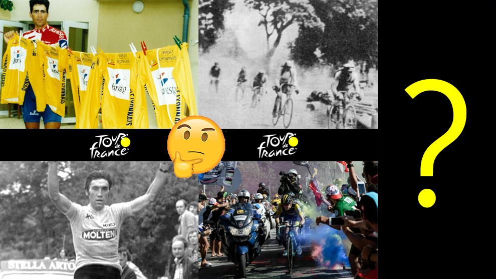 Récords del Tour de Francia, las primeras ediciones, Eddy Merckx y...
