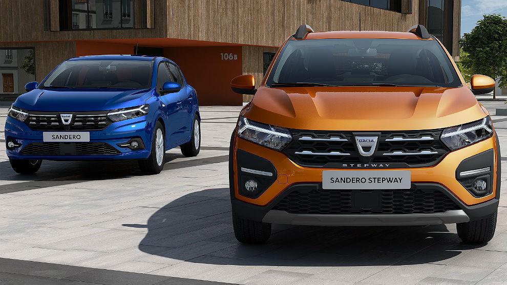 Los Dacia Sandero y Logan se renuevan