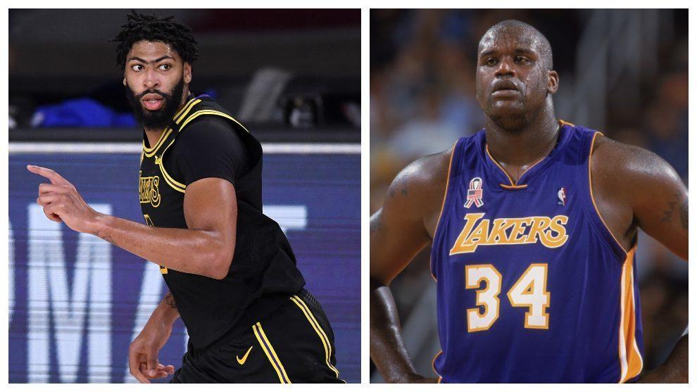 Anthony Davis, tan 'monstruoso' como Shaquille O'Neal en los Lakers