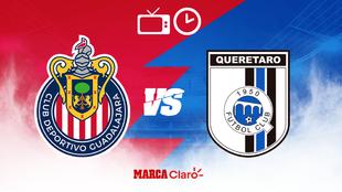 Chivas y Gallos se enfrentan, ¿dónde ver el partido por TV?