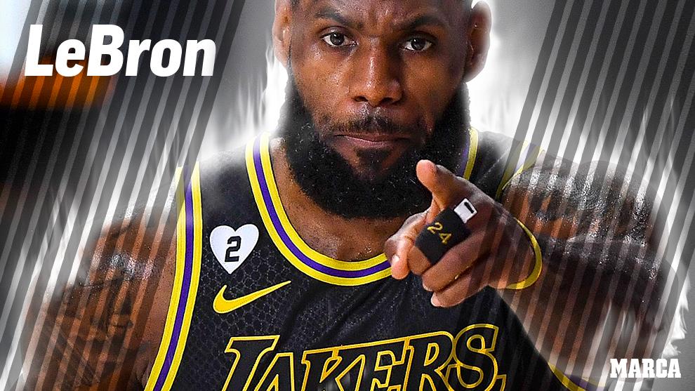 Nadie gana más que LeBron James, un jugador para la historia de los playoffs