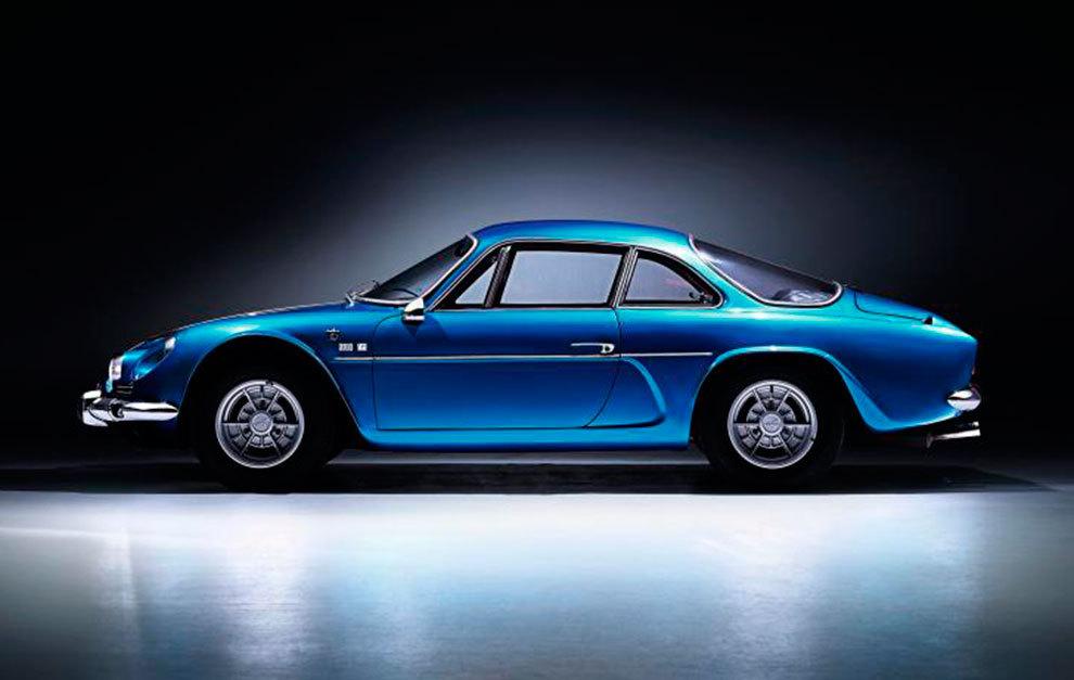 El A110 original es el modelo más bello de Alpine y sin duda el más emblemático.