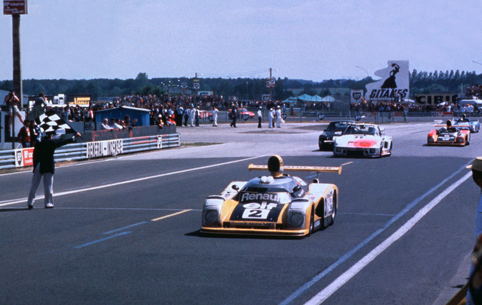 En 1978 Alpine consiguió al fin su ansiada victoria absoluta en Le Mans.