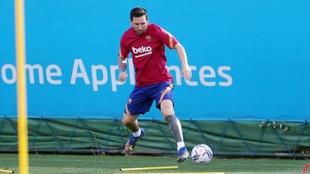 Messi, el primero en llegar