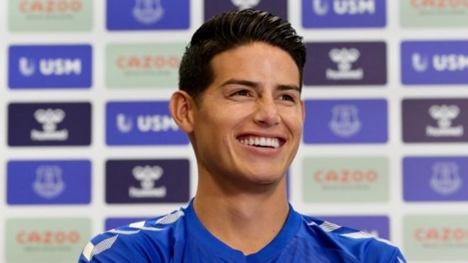James: Ancelotti était une énorme raison de venir à Everton