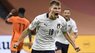 Italia vence 1-0 a Holanda en la Nations League.