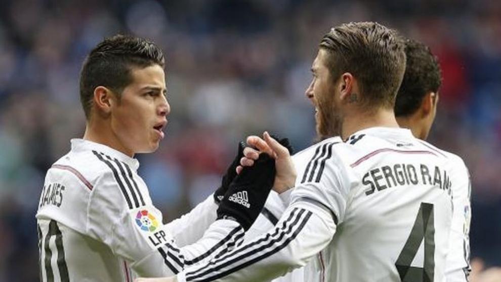 Message sentimental de Sergio Ramos pour James après la confirmation de la sortie du Real Madrid