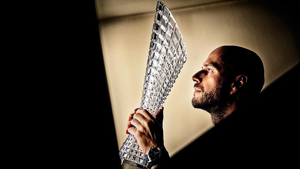 Peter Olah, diseñador de Skoda, se ha encargado de idear el trofeo.