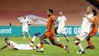 Depay, en el partido entre Holanda y Polonia.