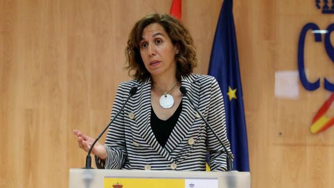 Irene Lozano, presidenta del Consejo Superior de Deportes.