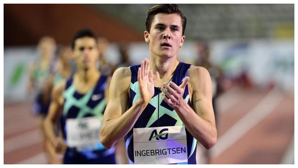 Jakob Ingebrigtsen, vencedor en Ostrava