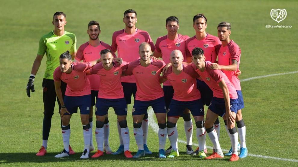 El once del rayo que jugó el amistoso con el Eibar hace dos semanas
