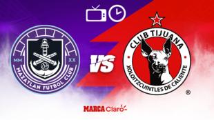 Mazatlan vs Tijuana: Horario y dónde ver el partido de la jornada 9...