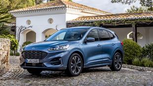 El Ford Kuga, fabricado en Valencia, es el híbrido enchufable más...