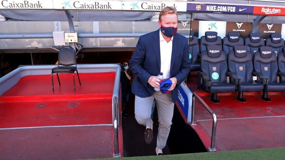 Barcelona's transfer window: Koeman takes out his notebook