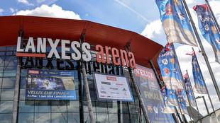 El Lanxess Arena de Colonia, sede de la Final Four masculina desde...
