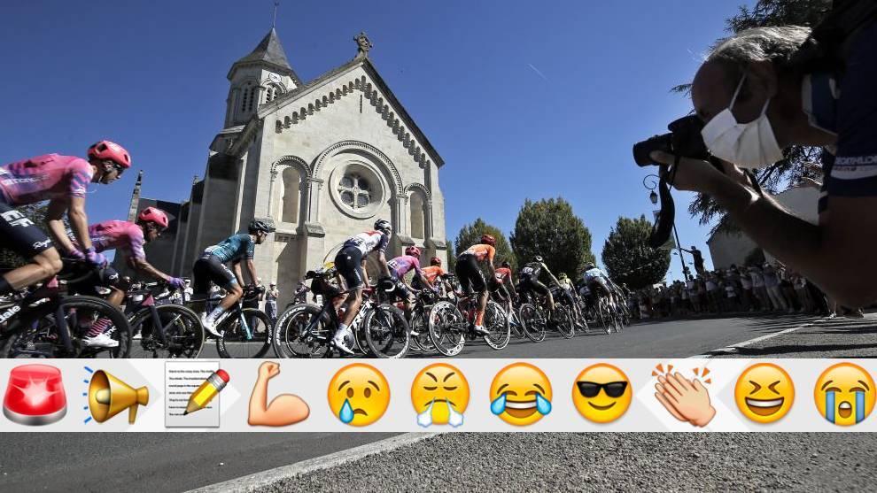 Nadie puede decir que se ha divertido hoy viendo la etapa del Tour de Francia