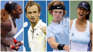 Serena, Rublev, Medvedev y Pironkova protagonizan la tarde de US Open