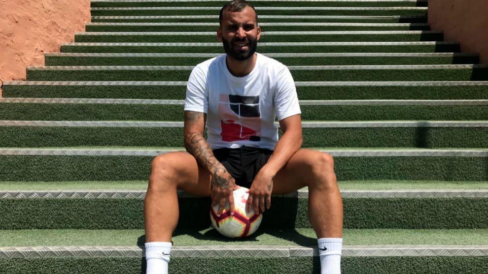 Jesé (27), en un reportaje reciente con MARCA.