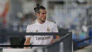 Gareth Bale, durante un partido de la temporada pasada