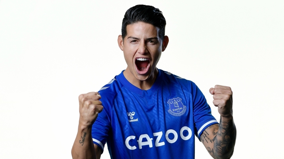 The impact of James Rodriguez's arrival at Everton: 400 million people reached