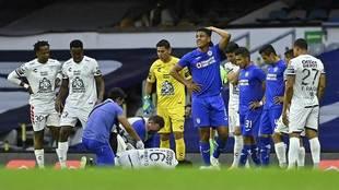 La lesión de Hernández causó conmoción entre compañeros y...