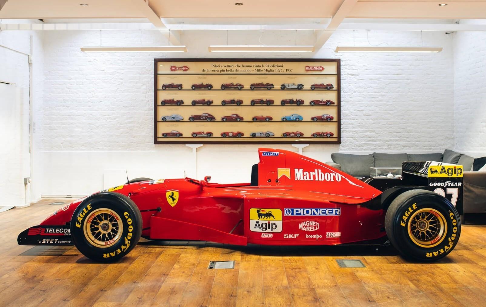 A final de 1995, Schumacher probó esta misma unidad.