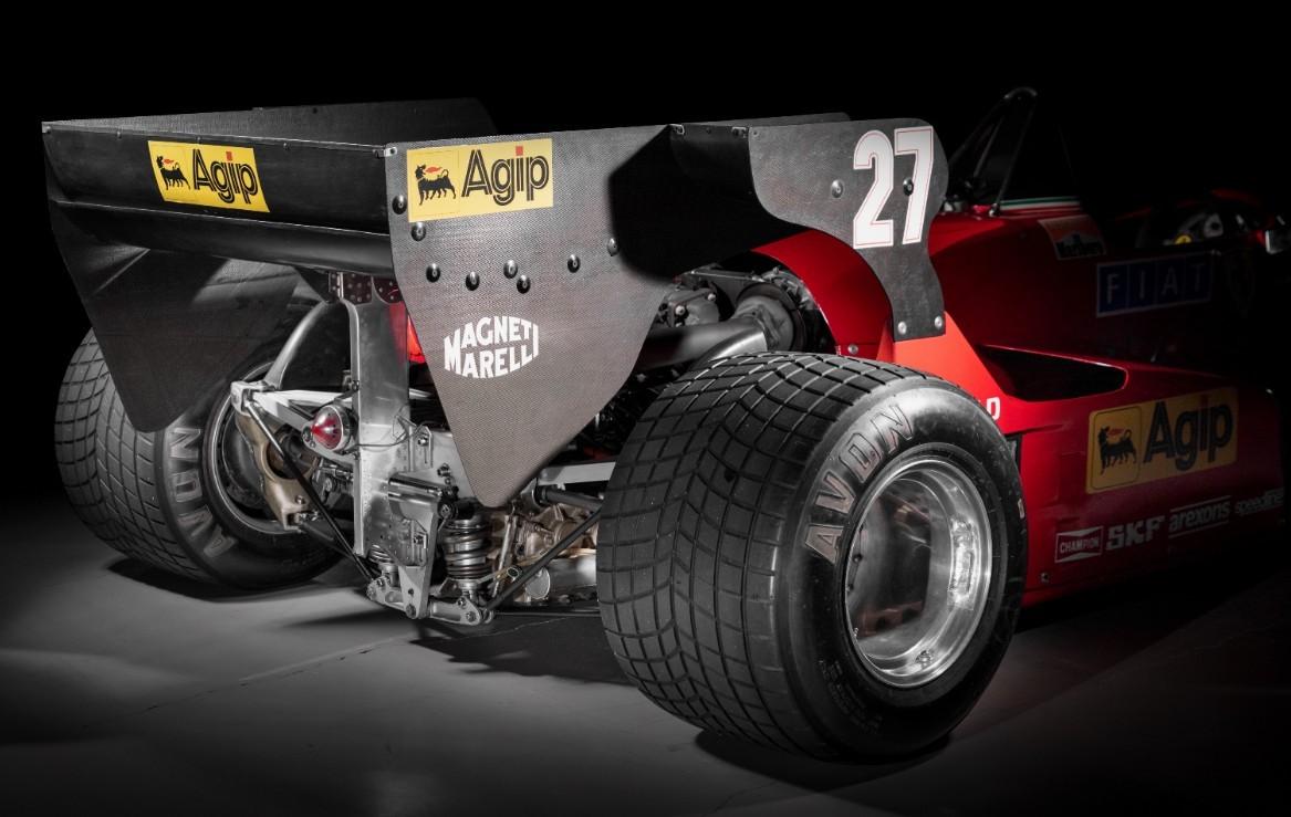 Este 126 C3 venció en el Gran Premio de Holanda de 1983.