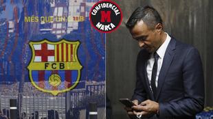 Las oficinas del Barça y Jorge Mendes