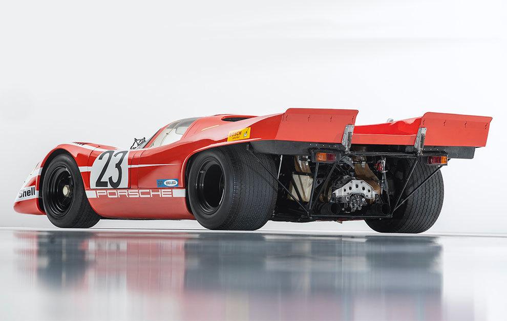 El 917 KH tenía gran parte de sus entrañas a la vista.