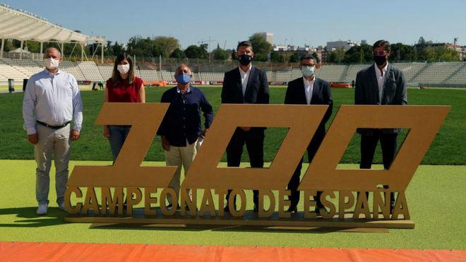 Presentación del Campeonato de España de atletismo en el estadio de...