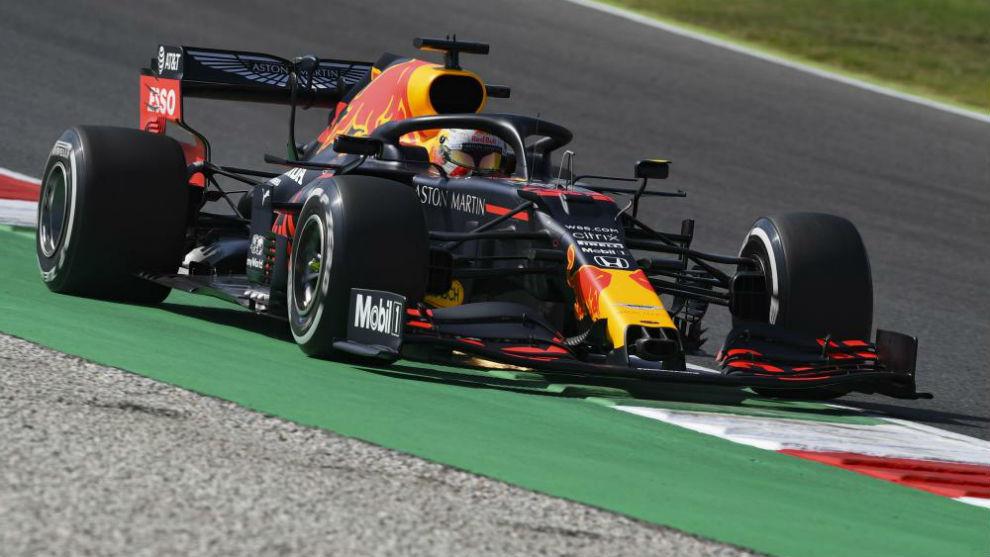 Max Verstappen, durante los entrenamientos libres del GP de La...
