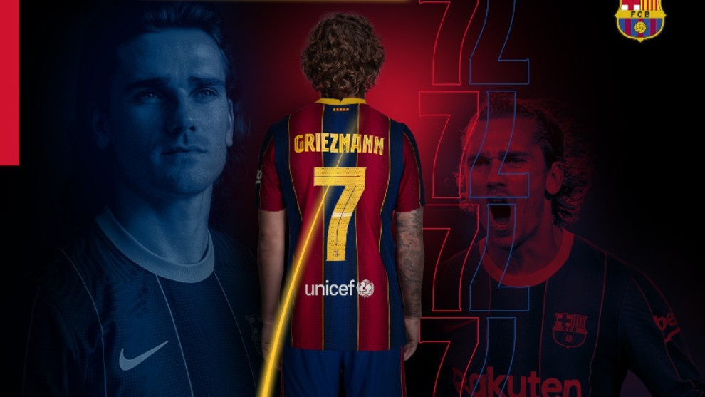 Kevin Durant reveals Griezmann's new number at Barcelona