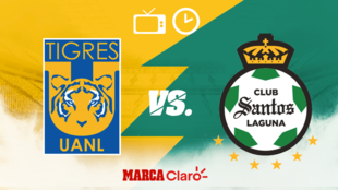 ¿A qué hora y dónde ver el partido entre Tigres y Santos?