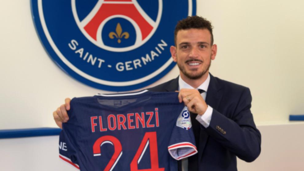 Officiel: le PSG signe Alessandro Florenzi prêté par la Roma