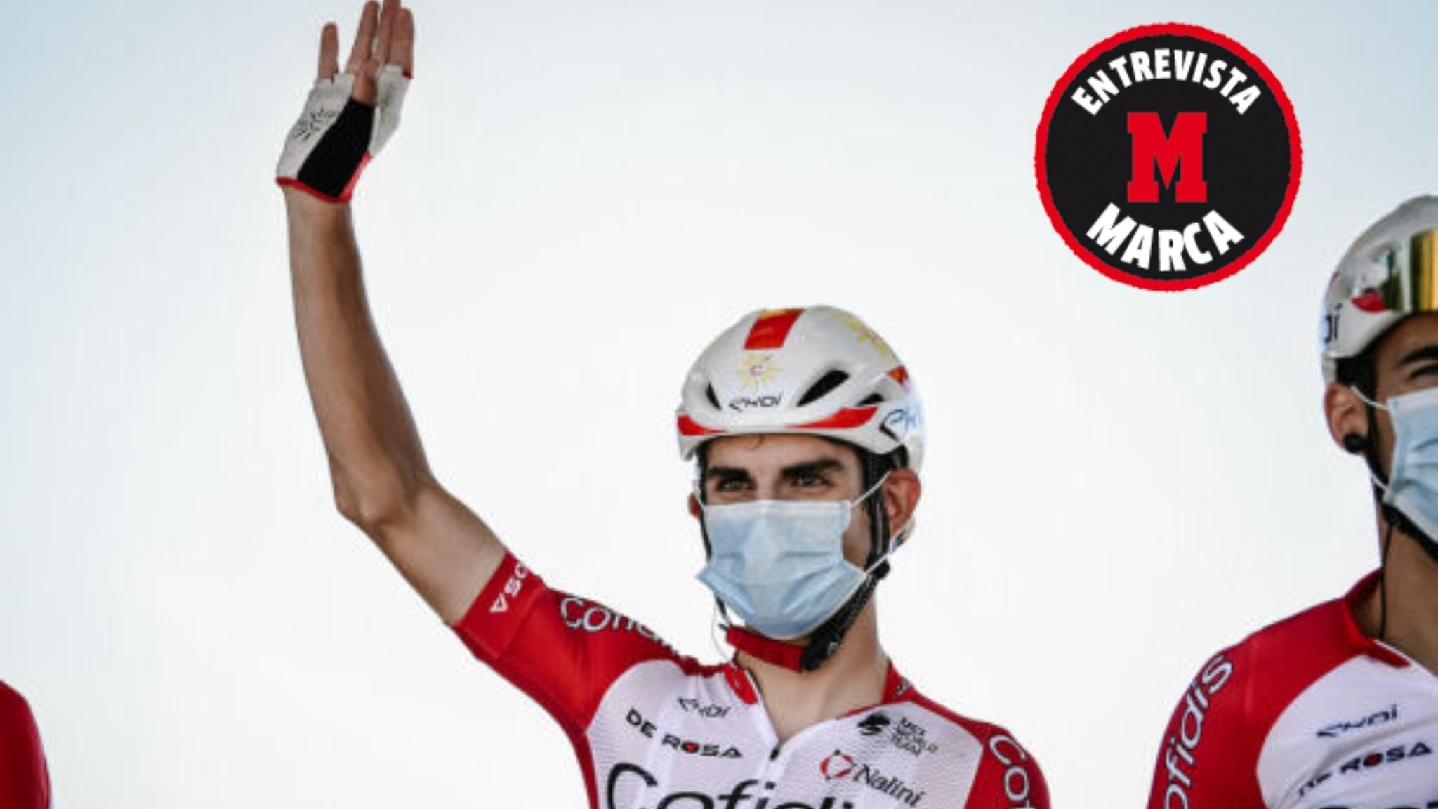 Guillaume Martin durante una etapa de este Tour de Francia