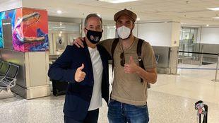 Higuaín junto al dueño de Inter Miami //