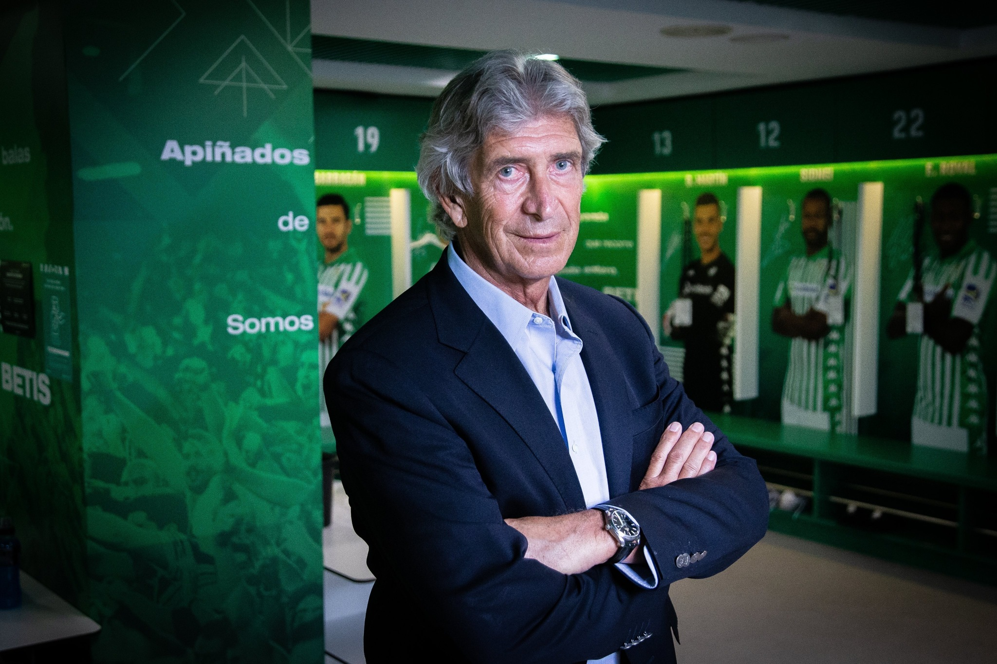 Manuel Pellegrini, en su presentación como nuevo técnico del Betis