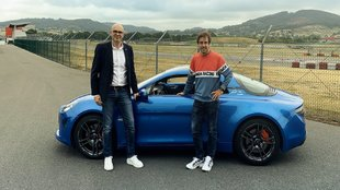 Fernando Alonso estrena Alpine A110S