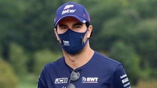 Checo Pérez podría estar en Alfa Romeo la próxima temporada.