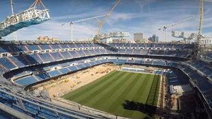 Las obras del Nuevo Bernabéu en 6 alucinantes minutos
