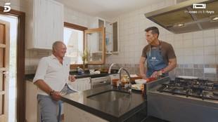 Bertín Osborne y Jesús Vázquez en el programa Mi casa es tu casa en...