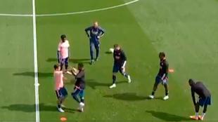 Máxima tensión entre Ceballos y Nketiah antes del Fulham-Arsenal