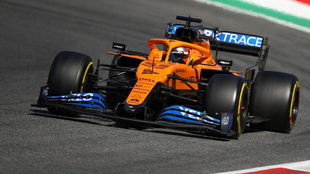 Carlos Sainz con su McLaren en Mugello