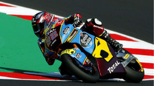 Sam Lowes, en Misano.
