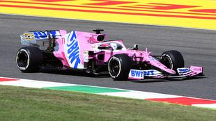 Checo largará séptimo en el GP de la Toscana.