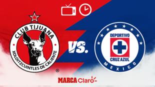 Tijuana vs Cruz Azul: Horario y dónde ver.