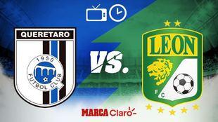 Querétaro recibe al León en la Corregidora