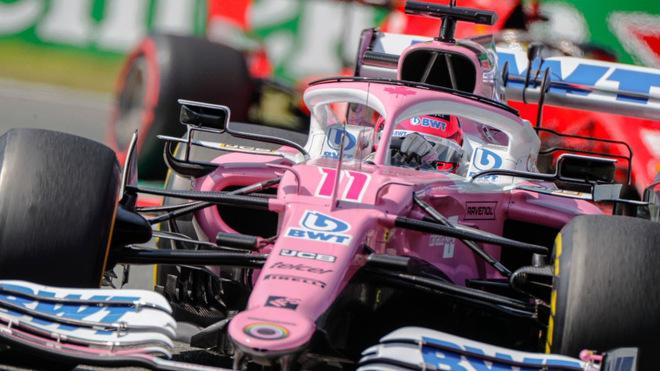 El piloto mexicano de Racing Point buscará hacer una gran carrera...