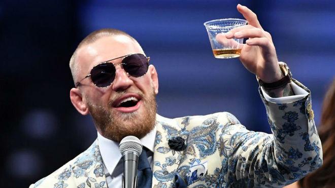 El exluchador de la UFC Conor McGregor.